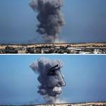 Palestinos convierten la destrucción de sus casas en poderosas imágenes artísticas