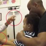 Mira la forma tan ingeniosa en la que este doctor pone inyecciones a niños… ¡sin dolor!