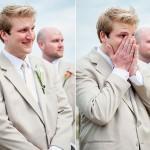 13 reacciones de novios en el altar que te mostrarán la cara que tiene el amor ¡Super entrañable!