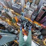 Si tienes vértigo, NO VEAS estas 29 fotografías tomadas desde los tejados de Hong Kong