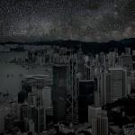 Perturbadoras imágenes de ciudades totalmente a oscuras. ¿Reconoces Paris?