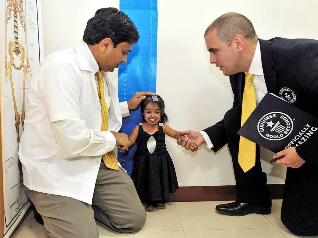 62,8 Zentimeter - kleinste Frau der Welt gekürt
