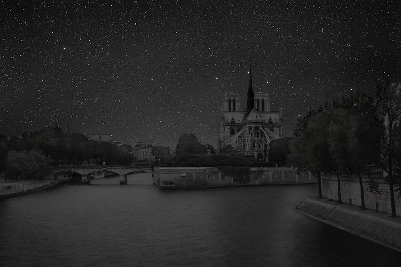 Paris Darkened Cities