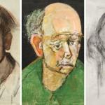 Un artista con Alzheimer se retrató a sí mismo hasta que apenas pudo recordar su rostro