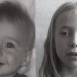 Filma a su hija 15 segundos cada día durante 14 años