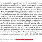 Esa declaración en Facebook que vale… absolutamente nada